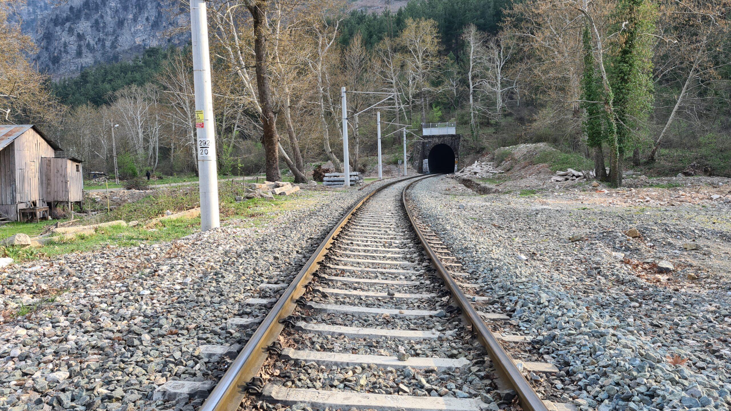 Belemedik tren rayları
