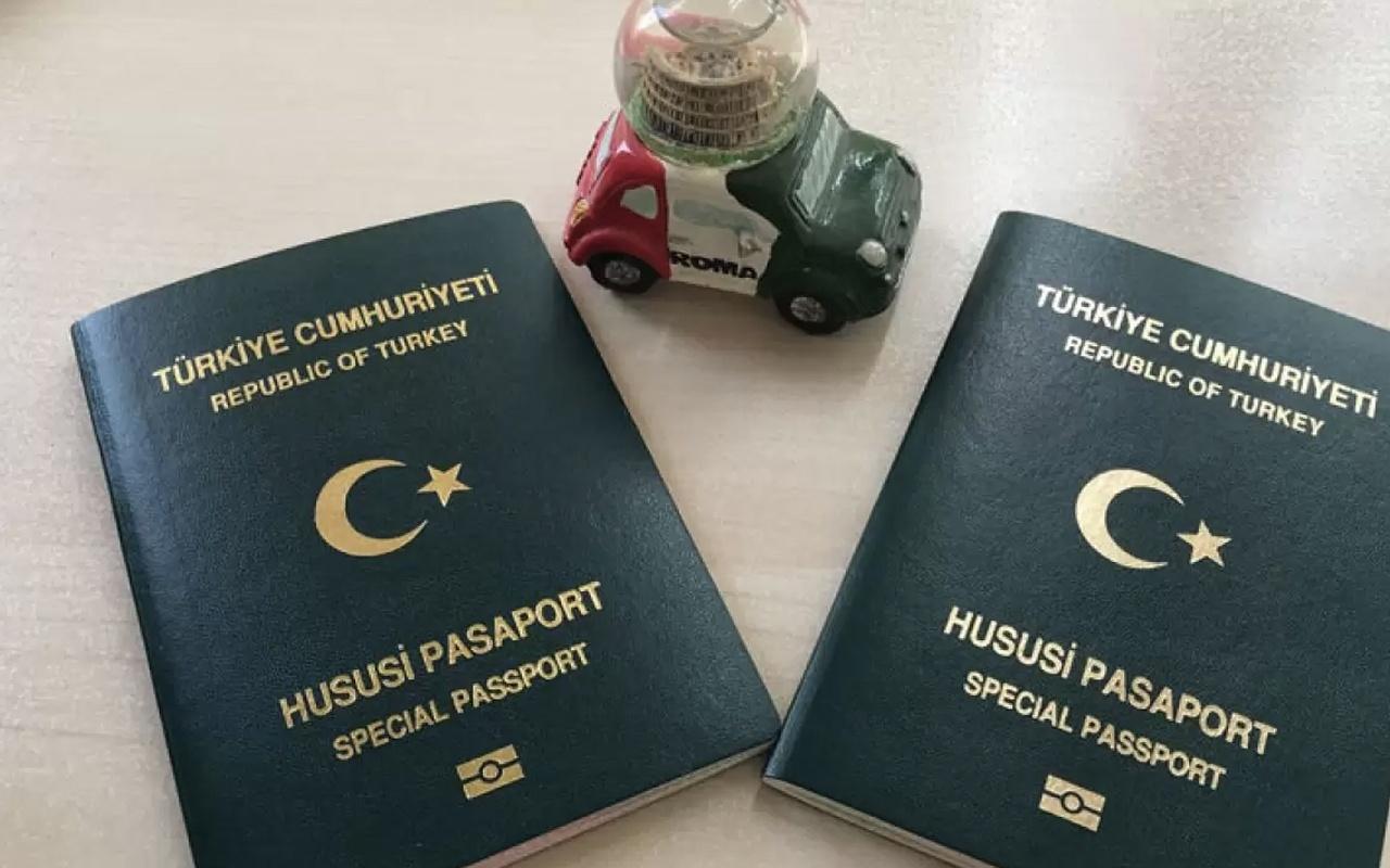 Yeşil Pasaport (Kaynak: internethaber.com)