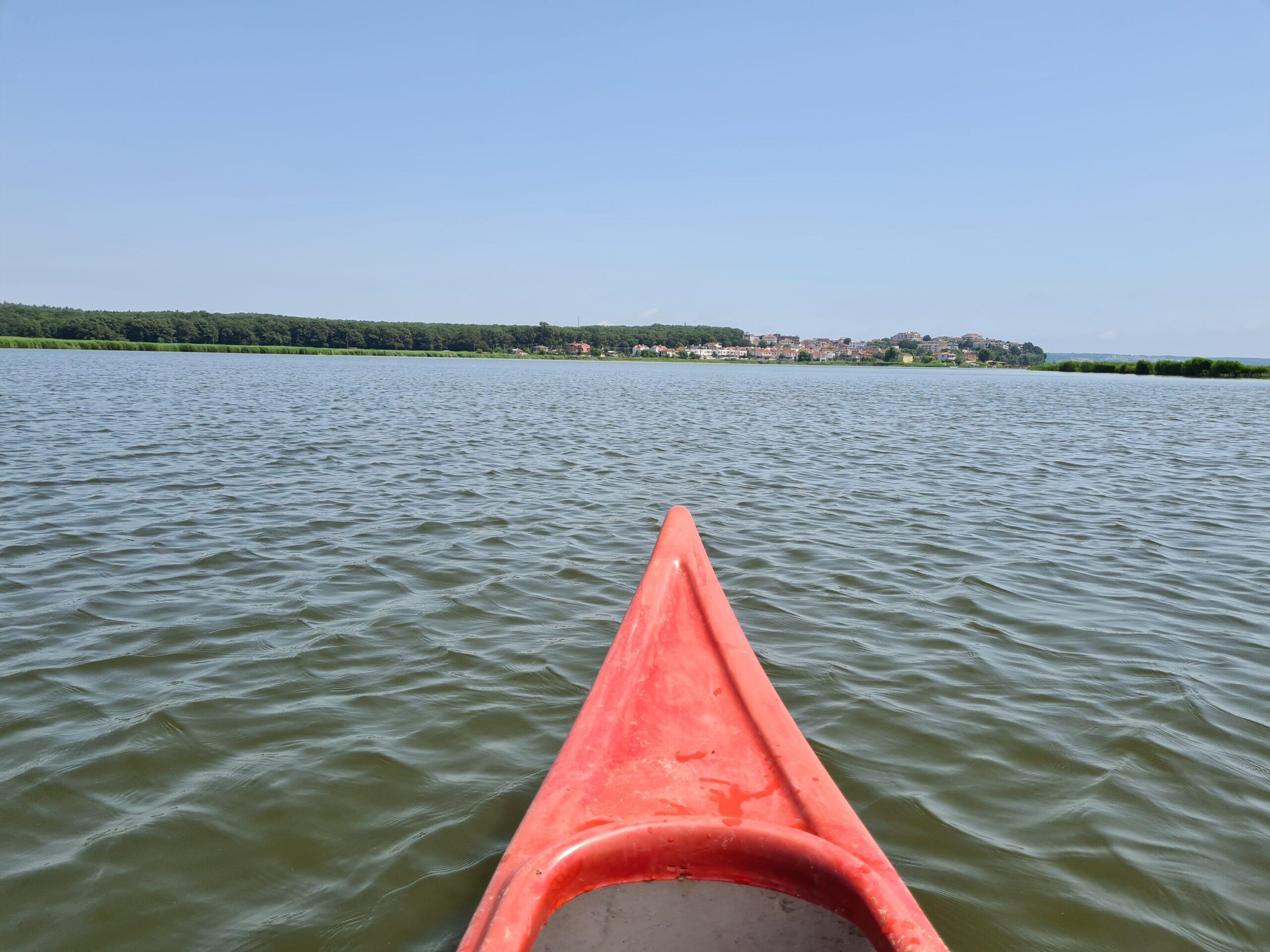 Mert Gölü Kano Turu